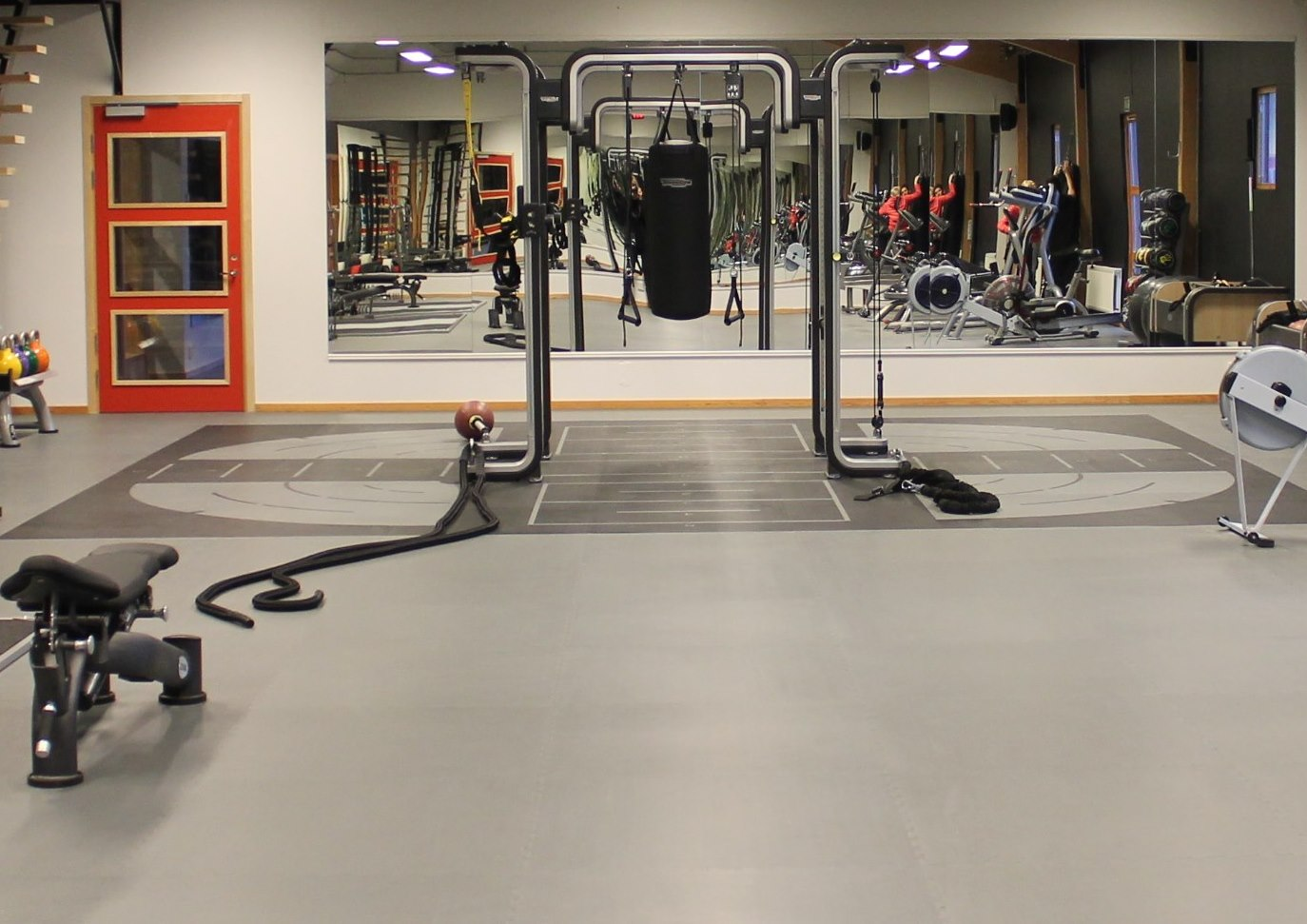 exercise gym kristianstad